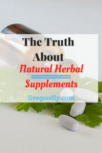 The facts about natural herbal supplements you need to know