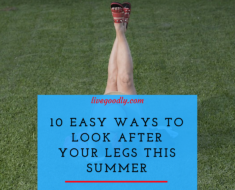 10 Easy Ways To Look After Your Legs This Summer